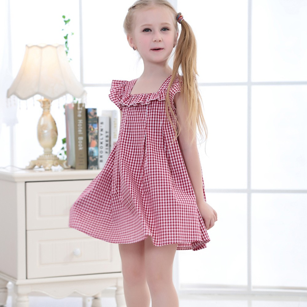 Wholesale Wholesale summer new model little girls cotton dress for ...