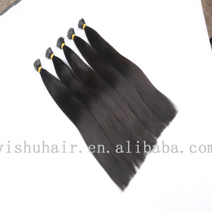 100% natural adina hair weaves for black women, fast shipping cheap remy 2 gram i tip hair extension