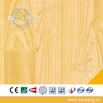 Wooden Basketball court flooring with 4.5mm