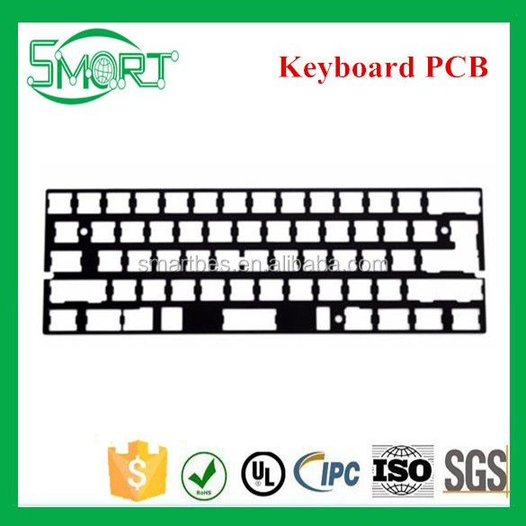 ~smart Electronics~universal Anodized Aluminum Plate Support Iso Ansi For  Gh60 Computer Keyboard Pcb - Buy Pcb,Computer Keyboard,Anodized Aluminum