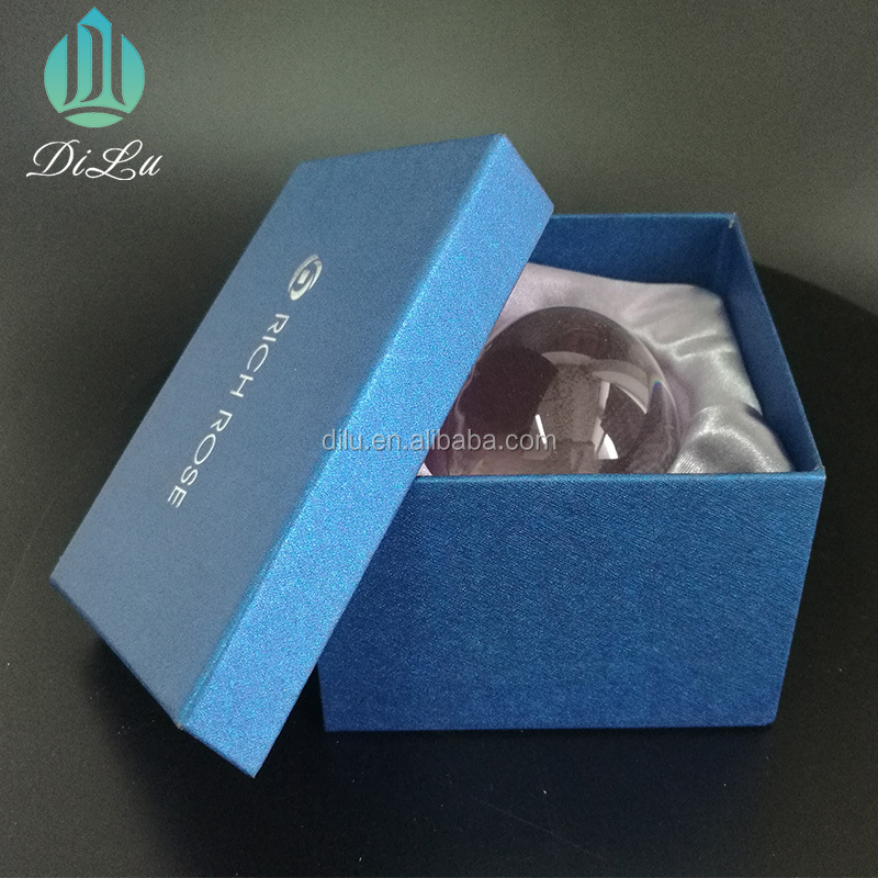 DL-21SJQ008 promotional product 60mm 80mm 100mm K9 glass round crystal ball 300mm for photography