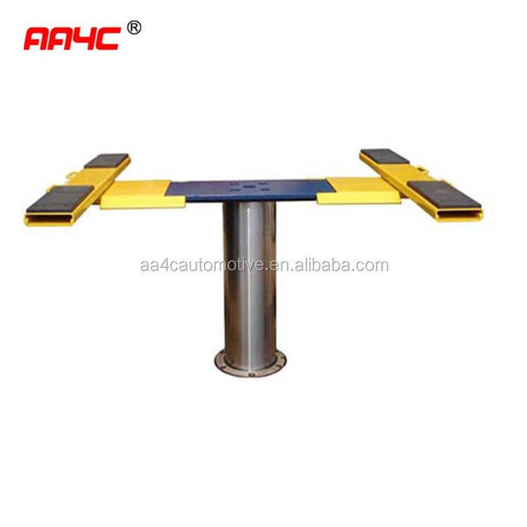 3.5T 1 post in ground hydraulic car washing lift