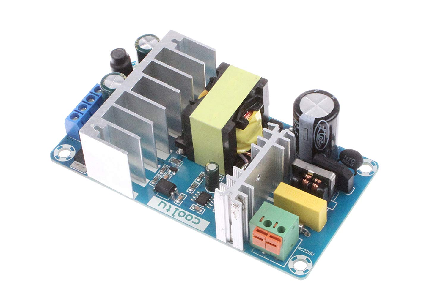 NOYITO AC/DC - DC Power Supply Module DC 24V 4A/12V 1A Dual Output AC 100-260V/DC 140-360V to 24V 12V 100W Industrial Power Module (Dual Output 24V 4A/12V 1A)