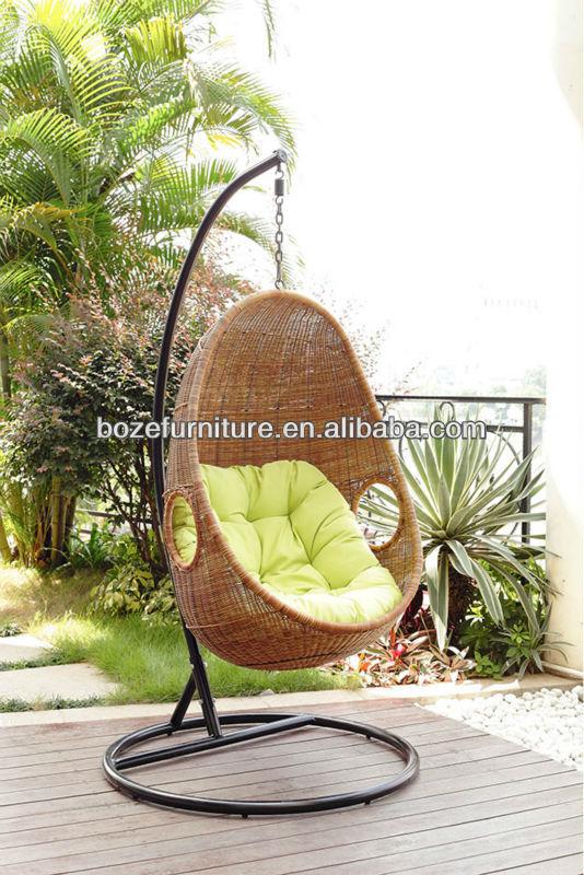 Garden Rattan Hammock Hanging Chair