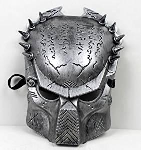 Kston Alien Vs Predator Warrior Movie Costume Mask Melody Venetian Mardi Gras Masquerade Halloween