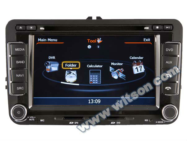WITSON car cd player with bluetooth Volkswagen POLO(MK5)