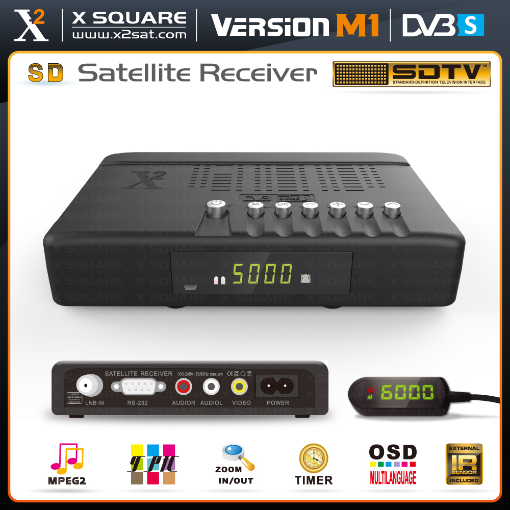 Mini dongle satellite sharing receiver--stock
