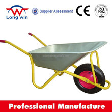 2014 hot selling WB6418 heavy duty building chinese rion russia wheelbarrow