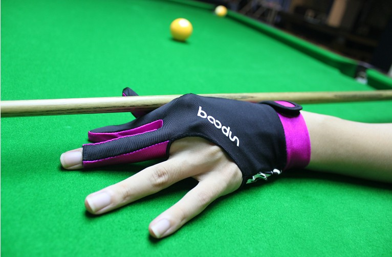 sport custom 3 finger billiard shooting snooker finger gloves