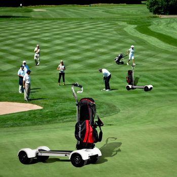 Four Wheels New Design Golf Board 1000w 60v 20 8ah Electric Cart Skateboard