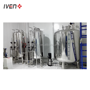 WFI machine PW machine - Pharmaceutical purified water treatment system 2 RO system