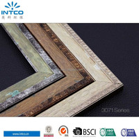 INTCO new arrival antique frame moulding for photo frame and mirror frame
