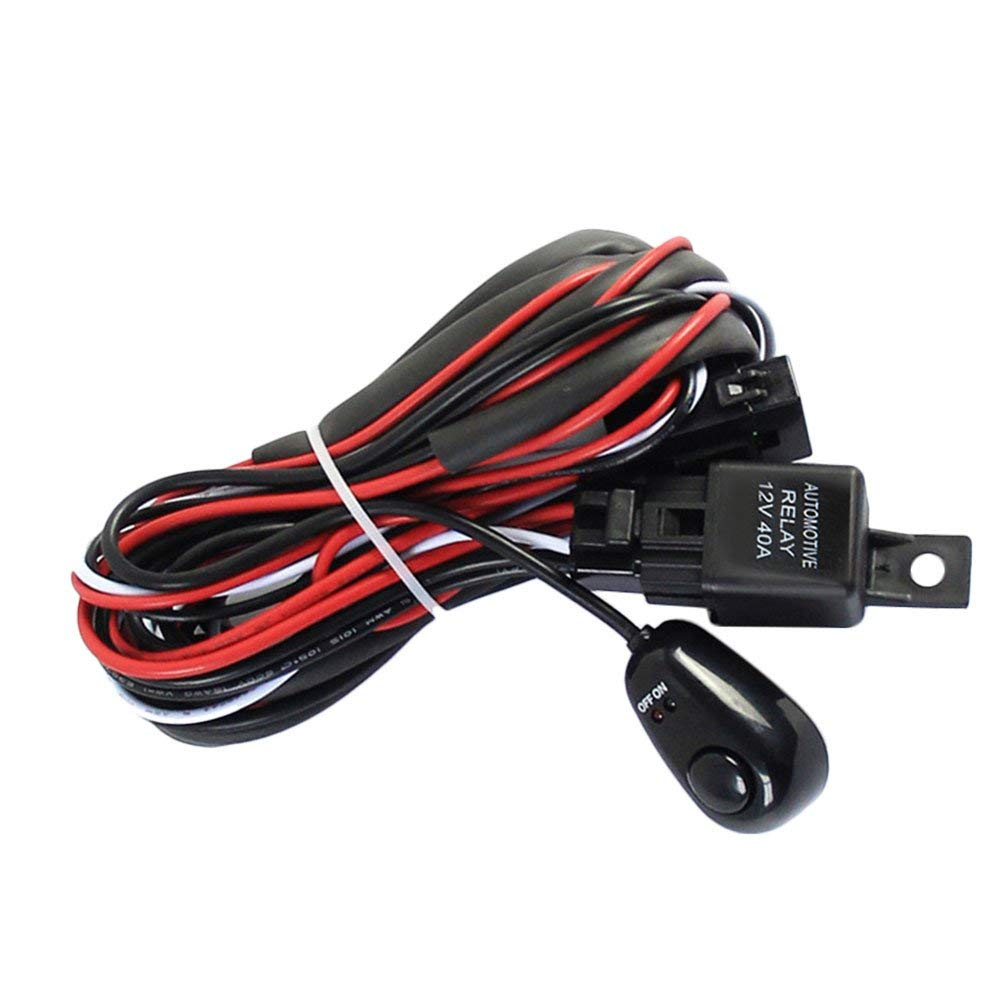 Cheap Car Wiring Loom Find Deals On Line At Alibabacom Automotive Supplies Get Quotations Foreverwen Universal Fog Light Switch Harness Kit For Led Work Driving Strip