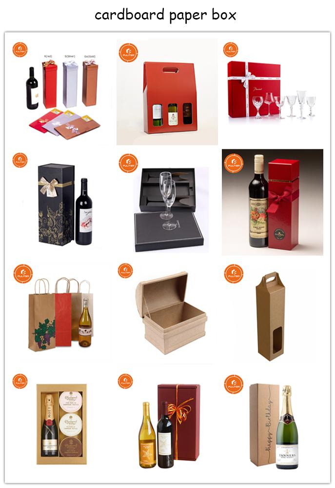 Kişiselleştirilmiş Özel Luxure Ahşap Bambu şarap kutusu Kırmızı Şarap için