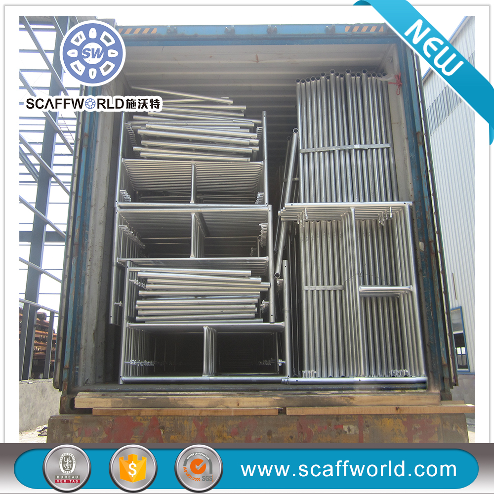 Cheap construction scaffolding system/ arch frame scaffolding/Snap Frame