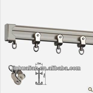 Curtain Track Glider Aluminium