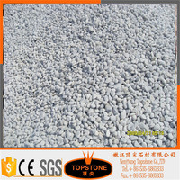 snow white decorative crushed pebble stone