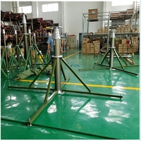 long term deployment Super Heavy Duty high Telescopic Keyed Pneumatic Masts for Telecommunication