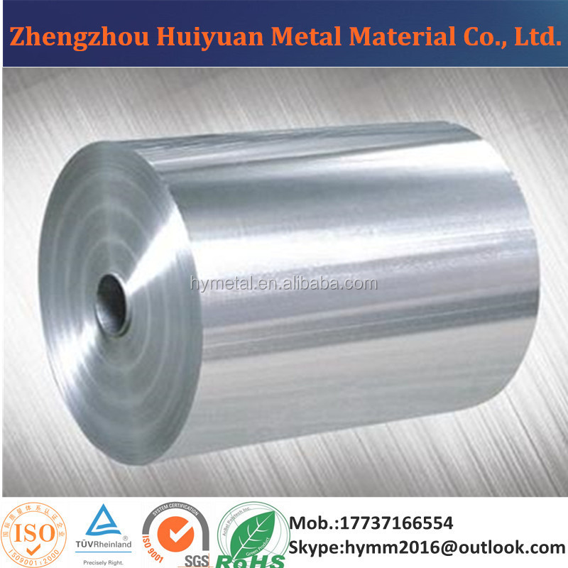 11 Microns Thick O 8011 Aluminum Foil For Cooking Application
