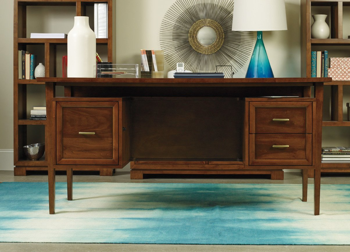 Hooker Viewpoint Office Furniture Set with Desk, Credenza and 2 x Other Items