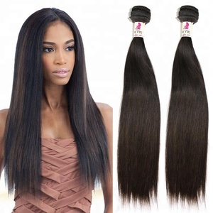 Cheap Straight Remy Human Hair Weave Extension Hair Weft Bundles 100% Natural Indian Human Hair