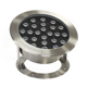 waterproof ip68 Stainless LED 24W led marine boat leds lights underwater