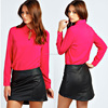 2014 new arrival fashion blouse and skirt ladies formal skirt and blouse