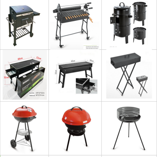 Stainless steel Table babecue pits foldable barbecue grill portable grill