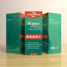 FDA del CE approva nitriti totale alkall durezza Br Ferro <span class=keywords><strong>Piombo</strong></span> <span class=keywords><strong>acqua</strong></span> potabile analisi kit piscina pH strisce reattive