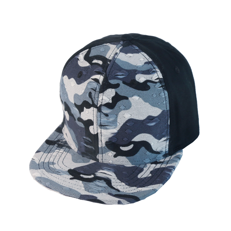 High Quality Blank Snapback Hats Manufacturer Custom Plain Flat Military Caps For Men