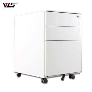 Office Furniture Workstation Steel Cabinet 3 Drawer Mobile Pedestal