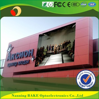 P7 Outdoor Smd Billboard Advertising Led Display Gas