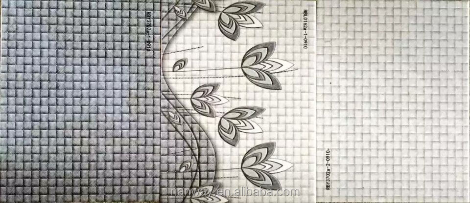 High quality water proof engobe interior 3d inkjet wall tiles