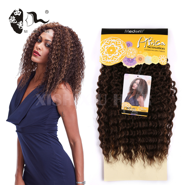 China Full Synthetic Curly Hair Weave Wholesale Alibaba