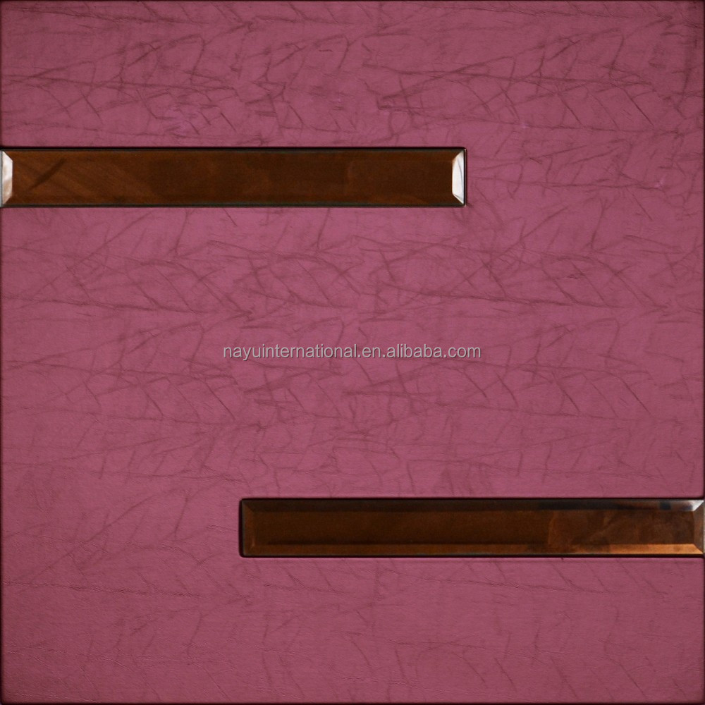 bedroom wall padding leather wall panels mdf decorative wall panel