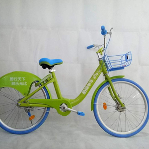China produce 24 inch cheap price city share bike with solid tyre