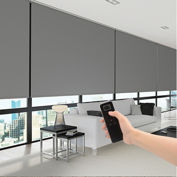 Indoor Electric Blackout Blinds Shades For Commercial