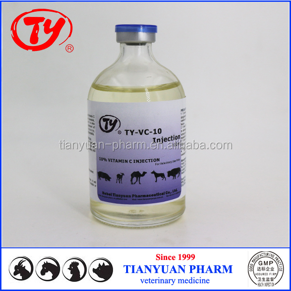 horse supplement vitamin c 10% veterinary use injection for animals