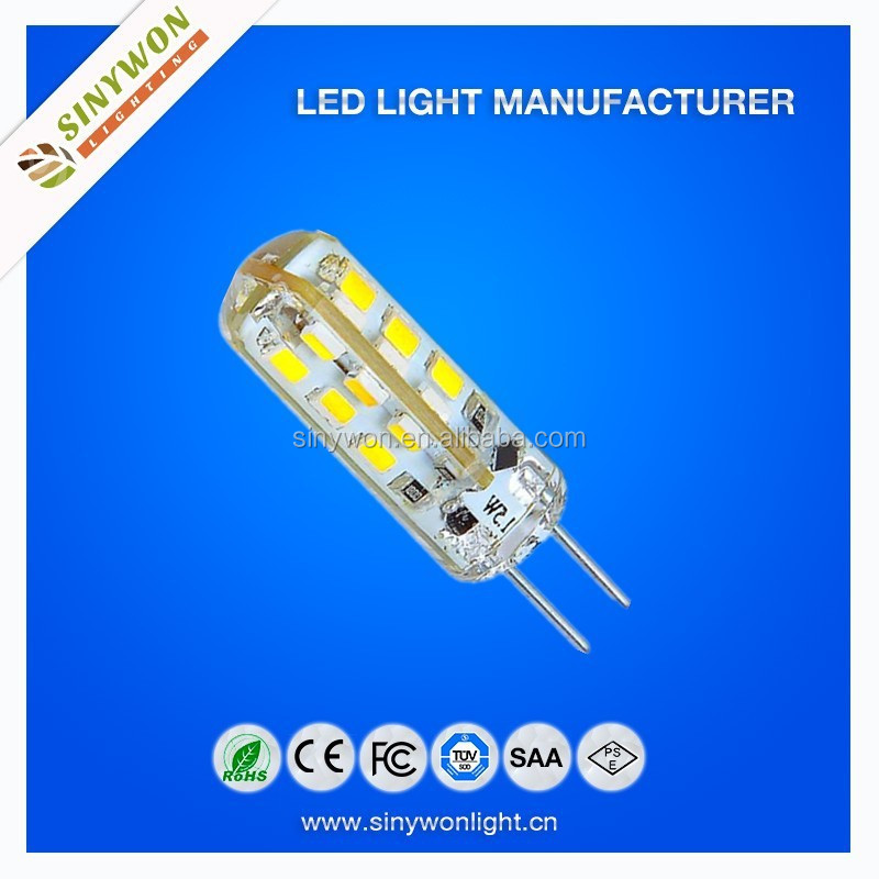 Hot Sale SMD 3014 24LED 3000K G4 ACDC12V LED Bulb