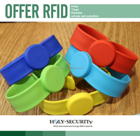 Silicone NFC Rfid Wristband/watches /bracelet for Swimming