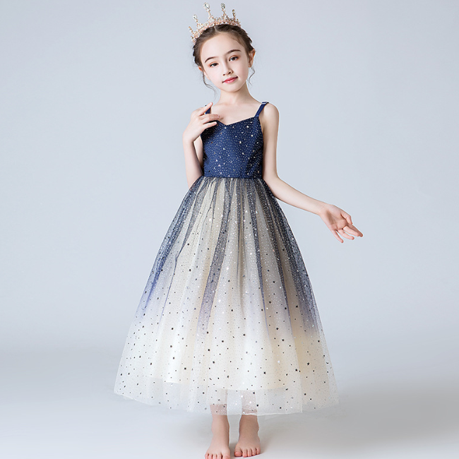 Alibaba.com / PHB 30963 fluffy design fashion sequin girl dress wedding