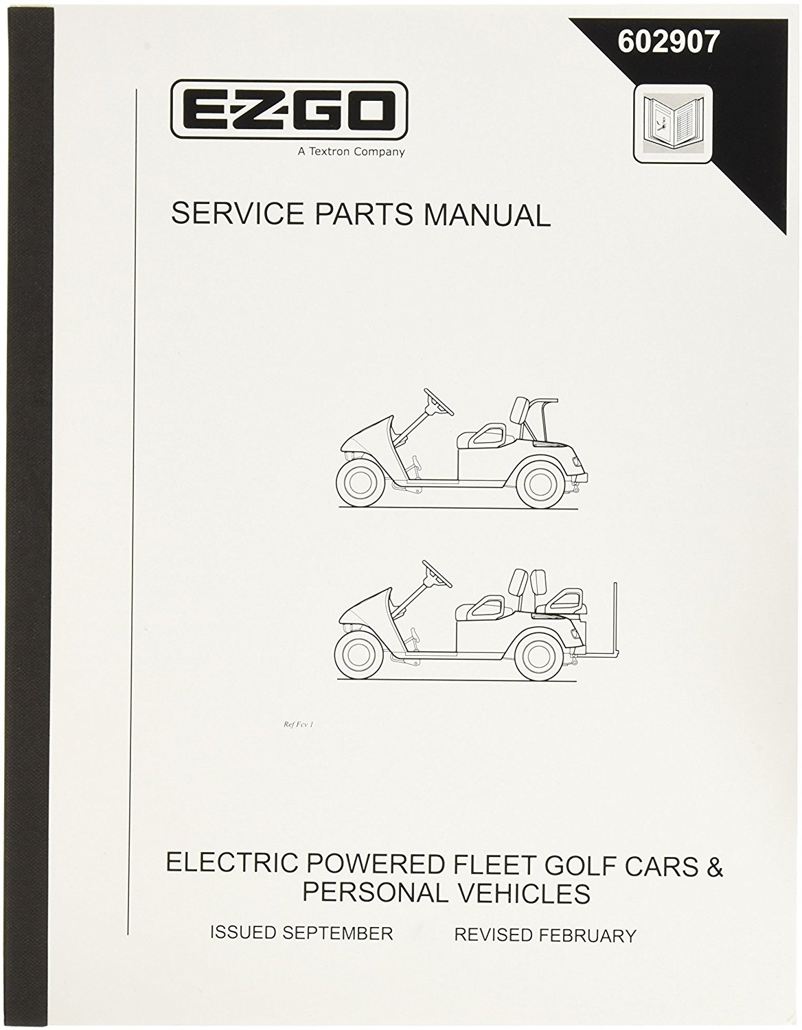 Get Quotations · EZGO 602571 2005 Owners Manual and Service Guide for Clays  Cars Gas Utility Vehicle