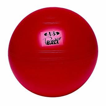 3B Scientific Red ABS Power Gymnastics Ball, 65cm Diameter