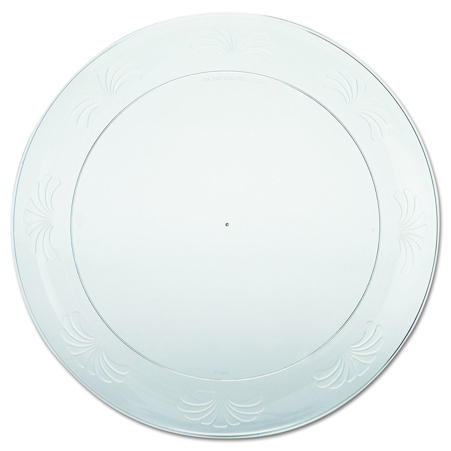 Clear Plastic 10 Inch Plates