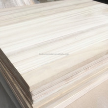 Hot sale paulownia solid wood board wood fence panels wholesale
