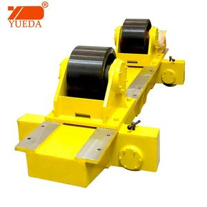 Yueda welding rotator welding turning rolls special rotator made in yellow color