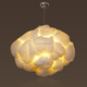 high polymer Material big Cloud pendant lamp with E27 holder