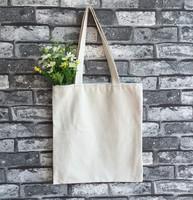 custom tote bag plain canvas wholesale