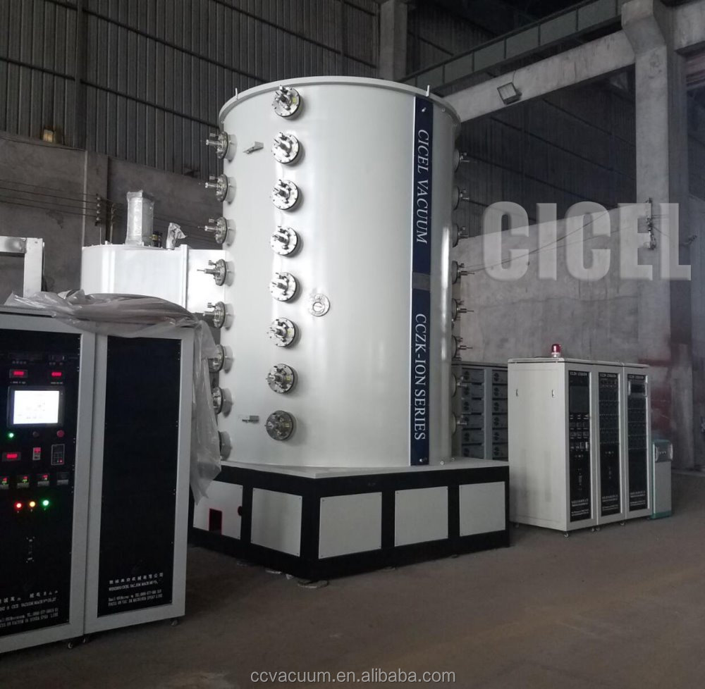 PVD vacuum coating machine for different colors and film coating