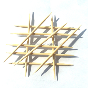 Hot sale bamboo toothpick diameter 2.0mm toothpick